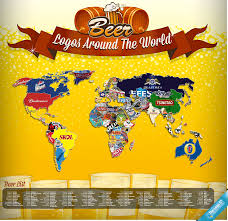 World Map Cartoon by World Map Of Beer Map Holy Kaw