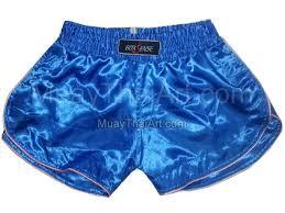 boxsense women muay thai boxing shorts bxswo 001 blue