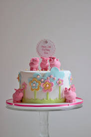 oink oink u2026 ella u0027s 2nd birthday cake the couture cakery