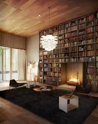 Bookcase Fireplace Designs 20 Living Room With Fireplace That Will Warm You All Winter