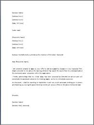 letter template in word resignation letter template free word