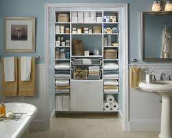 bathrooms design tall wood storage cabinets with doors linen