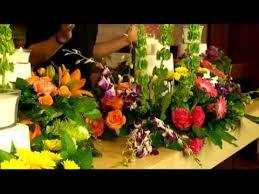 create large floral arrangements with stackables