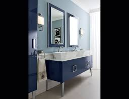 High End Bathroom Vanities by Daphne D18 High End Bathroom Vanity Navy Lacquer Wood