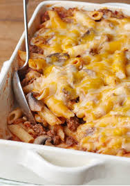 Pasta Sauce Ideas Cheesy Pasta Bake With Triple Cheddar Cheese Ground Beef