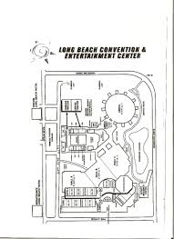 Map Of Long Beach 58th National Square Dance Convention