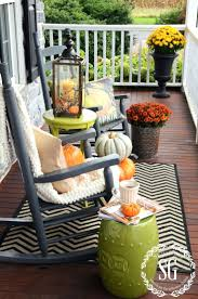Front Porch Fall Decorating Ideas - patio ideas fall outside decorating ideas 2012 farmhouse fall