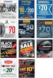 tire rack cyber monday 2017 sale rebates after sales
