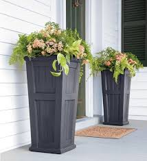 large garden decorative outdoor flower pots ideas garden