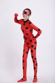 Lady Bug Halloween Costume Girls Miraculous Lady Bug Halloween Costumes Ladybug Costume