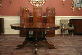 60 Dining Room Table Round To Oval Round Mahogany Dining Table With Leaves