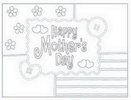 mothers day card color printable cards resize 544331 coloring