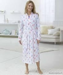 robe de chambre damart classique robe de chambre damart jersey imprimée multicolore