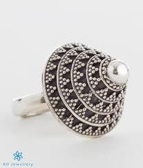 large finger rings images Buy online handmade jewellery oxidised silver cocktail finger jpg