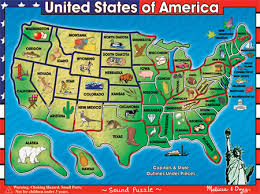 usa map kindergarten usa map sound puzzle giocattoli felice e ragazzi