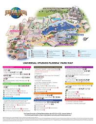 Universal Studios Map Orlando by Highstar Travel Group U003e Helpful Information
