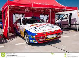 porsche 944 rally porsche 944 racing car editorial photography image 43528002