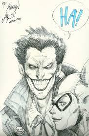 ario anindito joker quick sketch in inkink collectibles u0027s