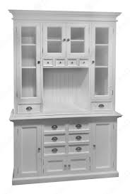 White Distressed Kitchen Cabinets Halifax Kitchen Hutch Cabinet In White Distressed Mahagony By Nova