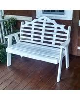 garden bench blue outdoor u0026 patio benches bhg com shop