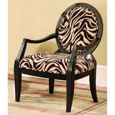 Zebra Accent Chair Animal Print Accent Chairs Coredesign Interiors