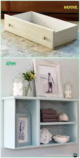 Diy Recycled Home Decor Recycle Old Drawer Furniture Ideas Projects Dresser Drawers