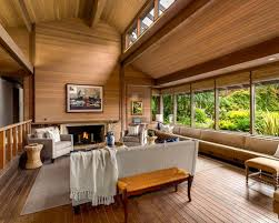 Asian Living Room Ideas  Design Photos Houzz - Wood living room design