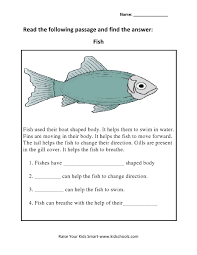 grade 3 animals read and answers worksheet 1 kidschoolz