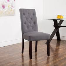 Dining Chairs Kitchen Stuff Plus - Grey fabric dining room chairs
