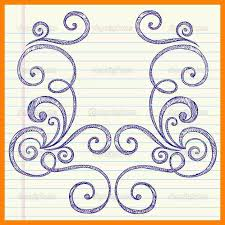 photos border designs to draw drawing gallery