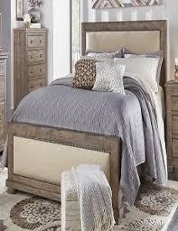 Progressive Willow Bedroom Set Wood Furniture Casual Bedroom P635 Willow Weathered Gray