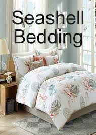 Seashell Duvet Cover Category Bedding Coastal Living Decor