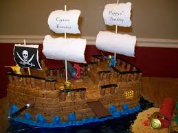 pirate ship cake grateful for the ride pirate ship cake