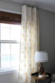 diy window curtains aka facing my sewing machine fears erin spain