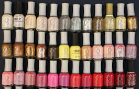 my nail polish collection featuring orly vampy varnish