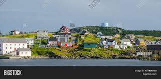 hillside homes bona vista hillside and shoreline bright colored homes nestled in
