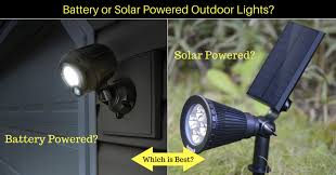 Solar Powered Outdoor Lights by Your Handy Guide To Wireless Outdoor Landscape Lights Solar Vs