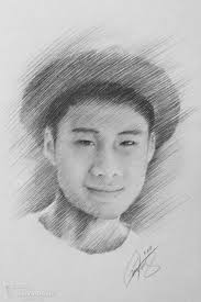 sketched portraits pencil turn your photo into a graphite pencil