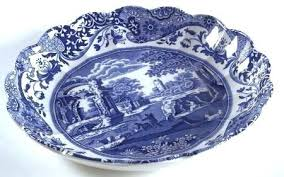 blue and white spode dishes spode blue italian camillanewer fluted