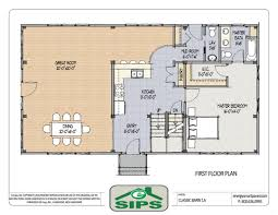 Floor Plan With Garage by Kitchen Bedroom House Floor Plans With Garage Room Plan Trend