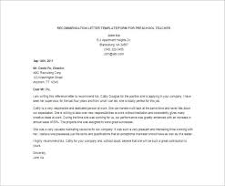 Example Reference Page For Resume by Recommendation Letter For Teacher Letter Of Recommendation