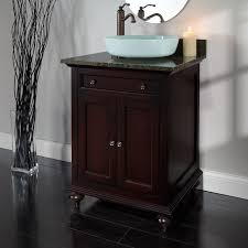 Bathroom Vanity For Vessel Sink 24 Bathroom Vanity With Vessel Sink 405157 24 Walnut Vanity