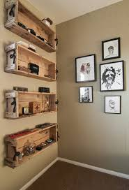repurposed wooden crate ideas crate shelves diy but really