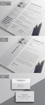 Resume Cover Letter Templates Free Free Minimalistic Cv Resume Templates With Cover Letter Template