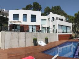 modern style house with fantastic sea views and private pool