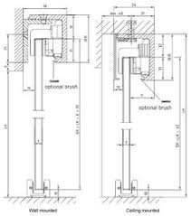 Sliding Barn Door Construction Plans Sliding Door Top Hung Detail Bathroom Ideas Pinterest