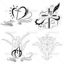 christian cross religious vector designs pack by vecras graphicriver