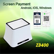 android qr scanner 360 degree omnidirectional desktop 2d screen barcode scanner for