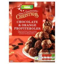 New Years Eve Party Decorations Asda by Asda Christmas Chocolate U0026 Orange Profiteroles Party Food
