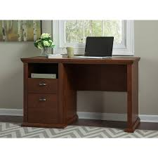 Overstock Home Office Desk Bush Furniture Yorktown Home Office Desk In Antique Cherry Free